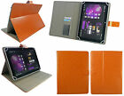 "Stylish Universal Wallet Case Cover with Stand various 7"" Inch Tablet & Stylus"