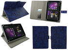 """Stylish Universal Wallet Case Cover with Stand various 7"""" Inch Tablet & Stylus"""