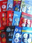 OFFICIAL FOOTBALL CLUB - Sets of 4 Button Badges {10+ Clubs}