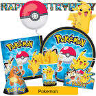 POKEMON Birthday Party Range (Tableware/Decorations/Partyware) Amscan