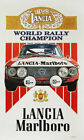 LANCIA MARLBORO RALLY CHAMPION GRAND PRIX METAL TIN SIGN POSTER WALL PLAQUE