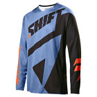 2017 Shift MX Mens 3LACK Mainline Jersey - Blue Motocross Offroad Trail Enduro