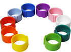 10 x 12 mm Clip On Leg Rings for Chickens, Ducks, Hens, Poultry, Bantams