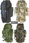 Army Military Rucksack Hiking Camping Bag Combat Cadet Backpack Travel 60L New