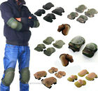4 Knee Elbow Protective Pad Protector Gear Sports Tactical Airsoft Combat Skate