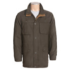 Browning Fremont Ranch & Field Jacket Men's M - Washed Cotton Canvas Camo Lined