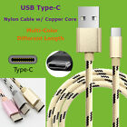 USB Type C Data Charging Sync Nylon Cable Charger For Google Nexus 2m 1.5m