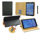 "7"" - 8"" Pu Leather Case Cover Wallet Folio for Various Tablets & Stylus Pen"