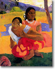 HUGE Gauguin When Will You Marry Stretched Canvas Giclee Repro Print ALL SIZES