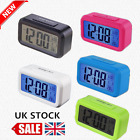Digital LCD Snooze Electronic Alarm Clock with LED Backlight Light Control DG