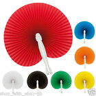 50 Paper Hand Fan Folding Wedding Party Favor Decoration Colour Chinese Wedding