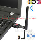 150-600Mbps Dual Band 2.4Ghz Wireless USB WiFi Network Adapter 802.11AC Antenna