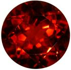Rare Natural Fine Deep Red Anthill Chrome Pyrope Garnet - Round - Arizona - Top