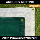 Premium Archery Backstop Netting  Choose Your Size  Color Net World Sports