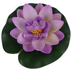 Hot Sale Floating Artificial Lotus Ornament for Aquarium Fish Tank Pond CA
