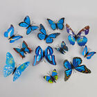12pcs 3D DIY mariposa pared Sticker mariposa Home Decor habitación pegatinas 17