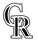 Decal Vinyl Truck Car Sticker - MLB Baseball Colorado Rockies on Ebay