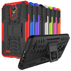 For LG Stylo 3 / Stylo 3 Plus Case, Rugged Armor Protective Cover with Kickstand