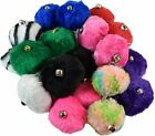 Roller Skate Pom Poms with Bell - Variety of Colors - Sold As A Pair