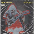 "IRON MAIDEN Fear Of The Dark 7"" VINYL UK Emi Shaped Pic Disc With Numbered"