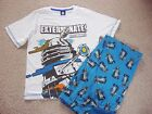 BOYS DR WHO DALEK EXTERMINATE PYJAMAS IN AGE 9-10 AND 10-11 YEARS BNWT