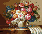 Beautiful Floral Arrangements Needlepoint Canvas  H198