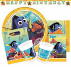 FINDING DORY Party Range (Birthday/Plates/Napkins/Banner/Nemo/Pixar)