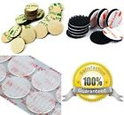 3M DUAL LOCK CIRCLES Adhesive Coins ~ CLEAR or BLACK ~ Low Profile or Heavy Duty