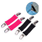 2x Elastic Stretch Bed Sheet Strap Blanket Grippers Mattress Cinch Clip Holder