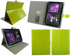 """Classic Universal Multi Angle Wallet Case Cover for 7"""" to 8"""" Tablet with Stylus"""