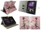 """Stylish Universal Wallet Case Cover stand fits 7-8 """" inch Tablets & Stylus Pen"""