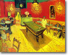 HUGE Van Gogh The Night Cafe Stretched Canvas Giclee Repro ALL SIZES