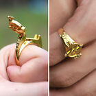 TV Series The Flash Reverse-Flash Rings Gold Plated Cosplay Props Gift with lid