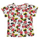 DISNEY MINNIE MOUSE:BEAUTIFULL PRINT T SHIRT,2/3,3/4,5/6,7/8,NEW WITH TAGS