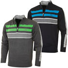 Cutter & Buck 2016 Mens Lined Newport Windblock Half Zip Sweater Pullover