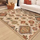 RUGS AREA RUGS 8x10 AREA RUG 5x7 CARPET MODERN GEOMETRIC MIXED PATTERN RUGS NEW~