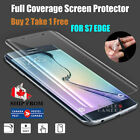 Front Back Screen Protector Film Full Body Cover For Samsung Galaxy S7 edge