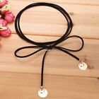 Synthetic Leather Necklace Women Neck Chain Fashion Choker Hot Sale