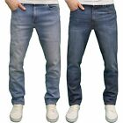 Wrangler Men's Texas Stretch Regular Fit Straight leg, Available in 2 colours