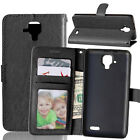 Slim 3 Card Wallet Leather Flip Case Cover For Lenovo P1 P2 S1 K5 K6 A2010 A7010