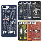 For iPhone 7 & 7+ Plus - HYBRID HIGH IMPACT ARMOR HARD TPU RUBBER NFL CASE COVER
