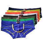 Mini Boxer Men's Trunk Bulge Modal Underwear Sexy Briefs 4 Comfortable Size S~XL