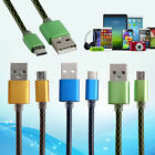 3ft Soft Micro USB 2A Sync Data Cord Cable Charge Line for Android CellPhone HOT