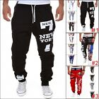 Men's Casual Sweatpants Jogger Dance Sportwear Baggy Harem Slacks Trousers Pants