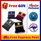 Harry Potter Kids Adult Scarf Gryffindor Hufflepuff Slytherin Ravenclaw Costume