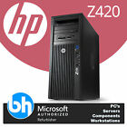 HP Z420 Customisable Eight or Quad Core Xeon Up to 32GB RAM Workstation Win 10