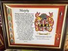 Moodie to Moss Family Coat of Arms FRAMED - Over 1,000,000 Names available