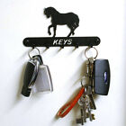 Black Solid Steel Silhouette Key Holder - Available in 14 Designs