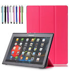 "Lenovo Tab2 Tab3 Tab4 Tab7 7""/ 8""/ 10.1"" Tablet Case Slim Smart Shell Fold Cover"