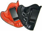 PREMIUM LEATHER IWB CONCEALMENT HOLSTER for REVOLVERS - Choose Gun & Color